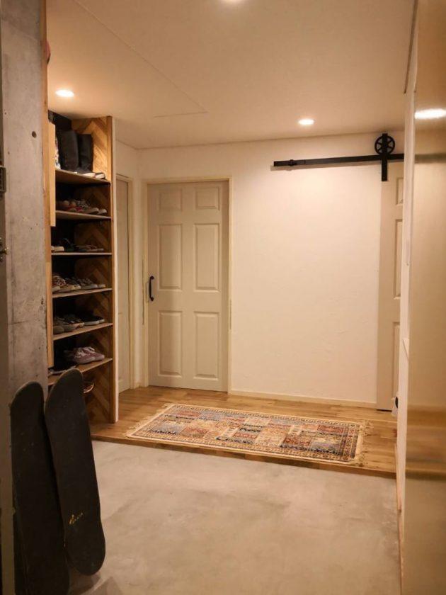 靴箱、玄関