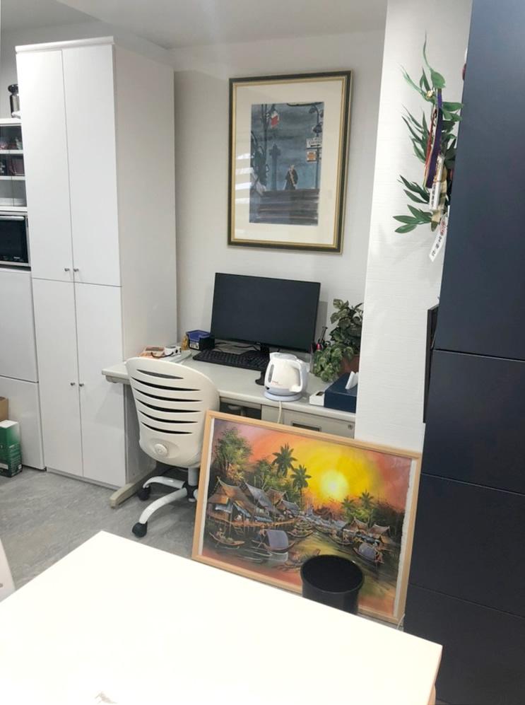 綺麗になった事務所