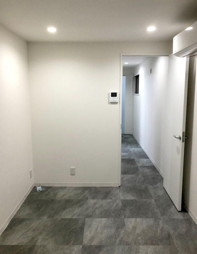 リフォーム後、廊下とお部屋