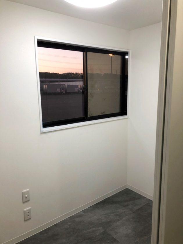 リフォーム後内装、窓