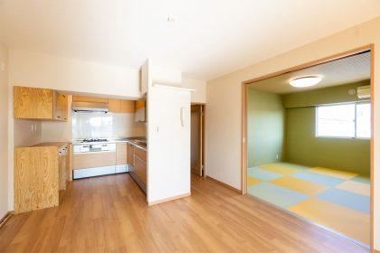 リビング横の和室の写真