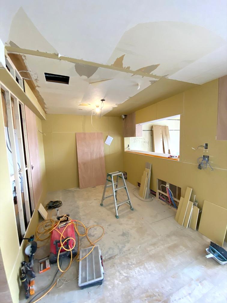 キッチン写真、工事中です