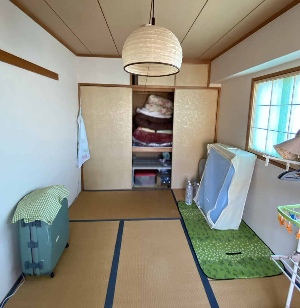 和室のビフォー