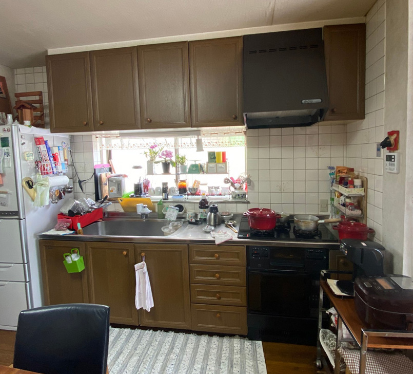 工事前のキッチン