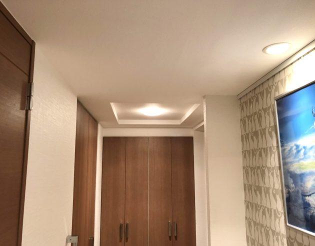 修復された天井