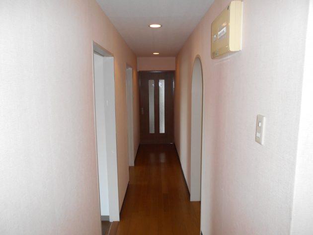 ビフォーの廊下