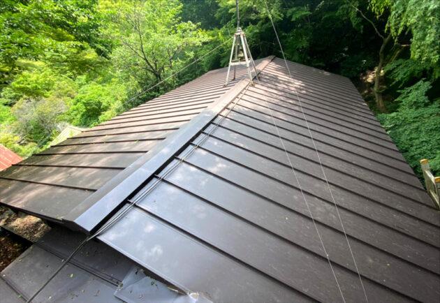 屋根工事 完成写真
